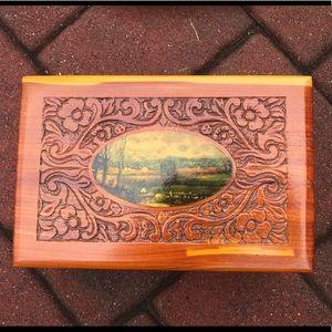 Other - Vintage Cedar Storage Box
